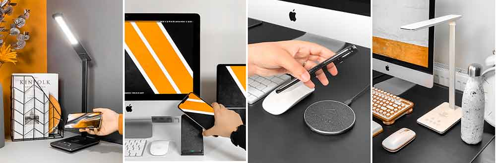 Touchdown Wireless Charging Devices for Smartphones