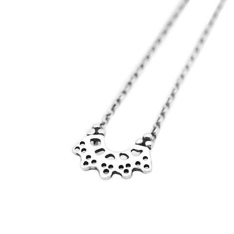MAY HOFMAN JEWELLERY India Silver Necklace