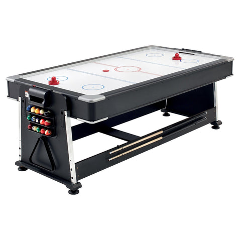 Mightymast 7ft Revolver 3-in-1 Multi Games, Pool, Air Hockey & Table Tennis Table Game