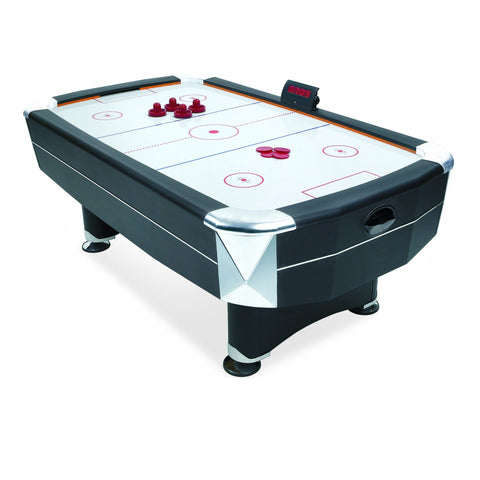 MIGHTYMAST Vortex 7ft Full Size Air Hockey Table Game - unusualdesignergifts.co.uk