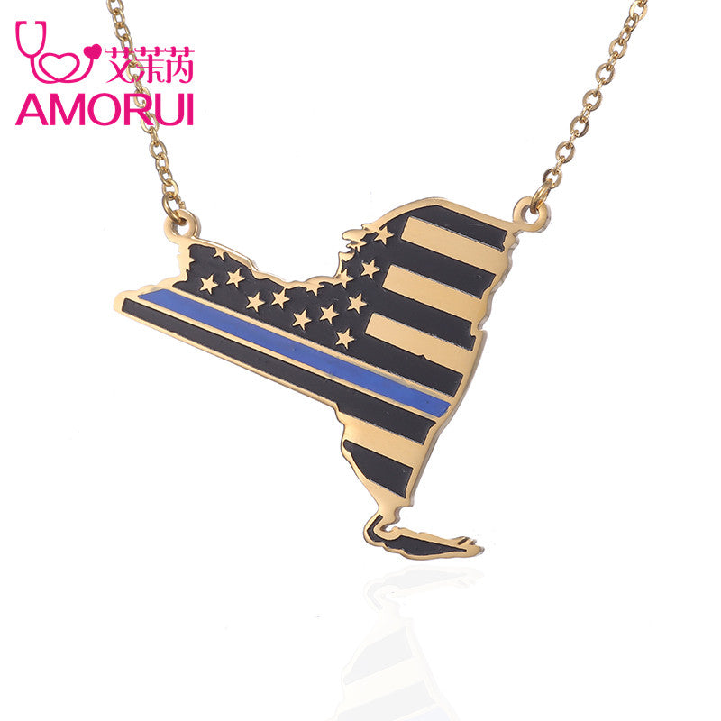 USA Police officers Pendant