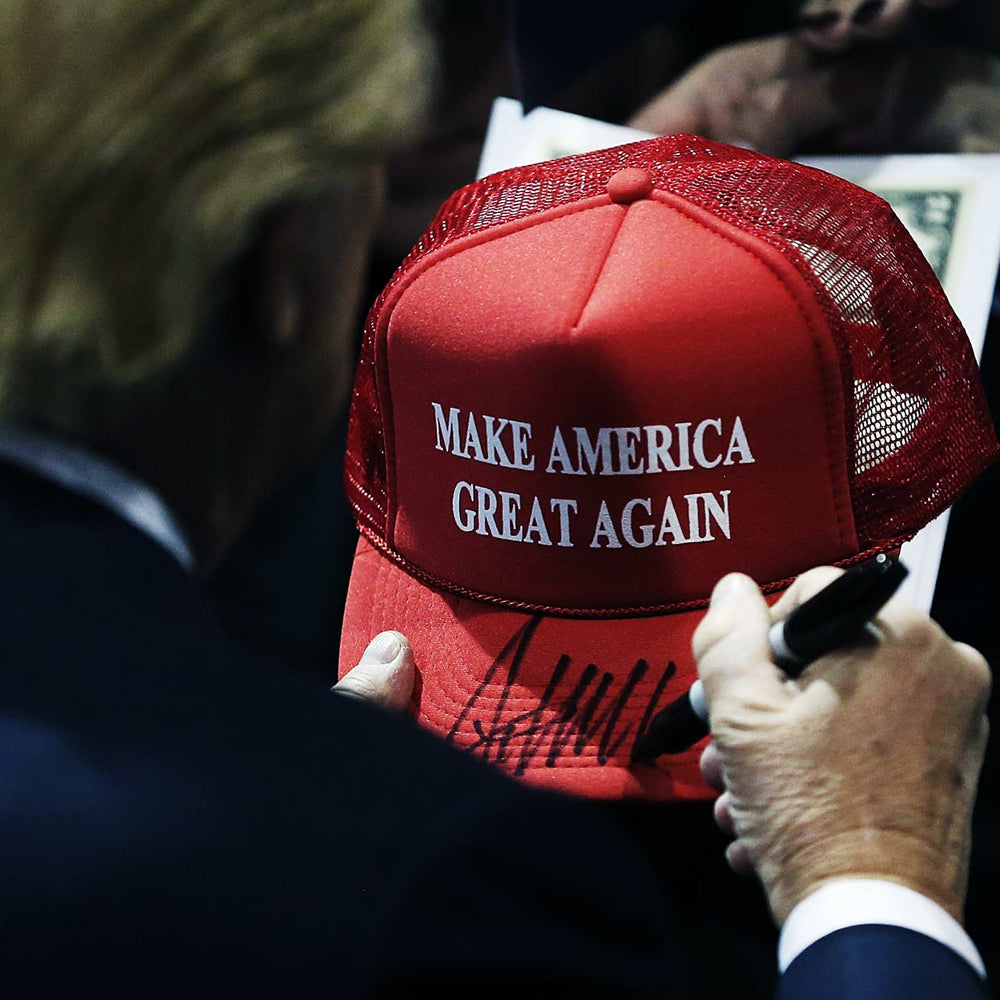 Printed Trucker Caps Donald Trump