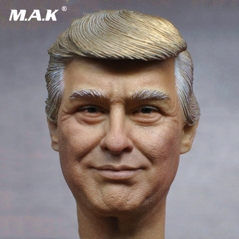 President Donald Trump Head