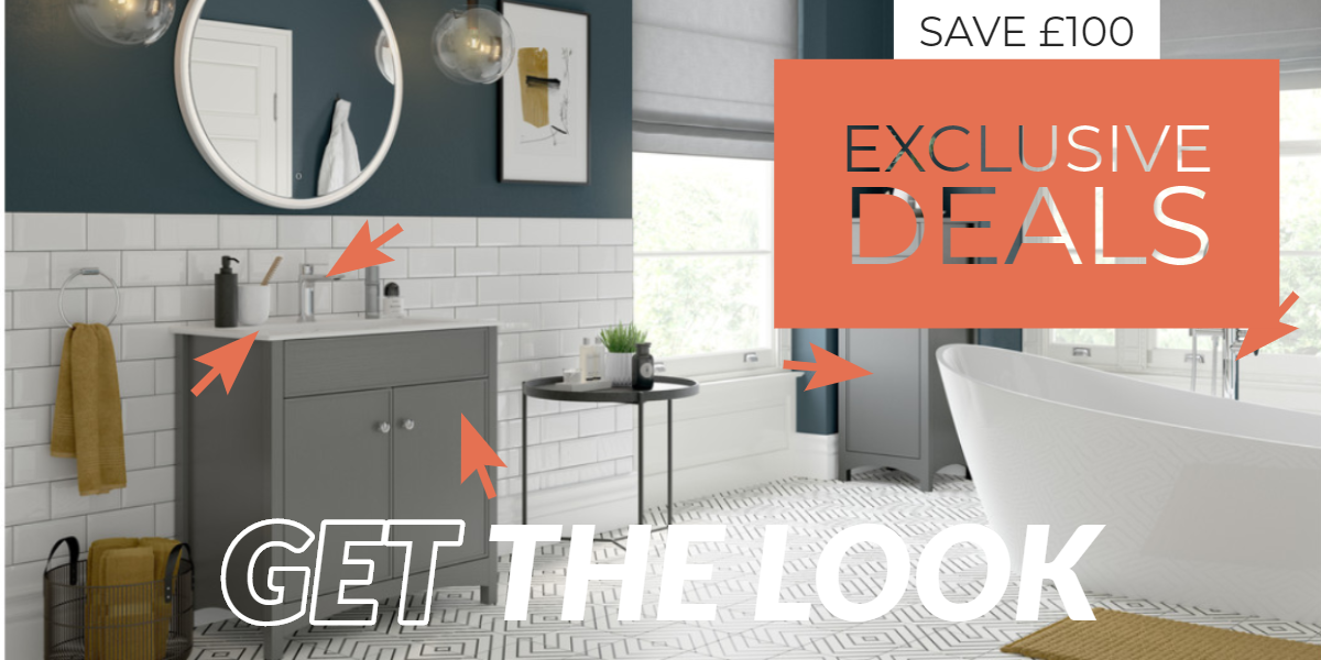 Get the Bathrooms to Love Look and Save!
