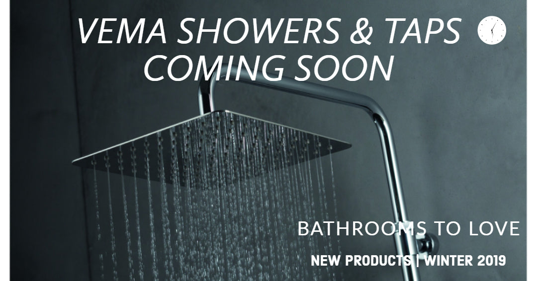 Introducing Moods Vema Showers and Taps