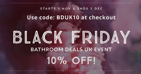 Black Friday Bathroom Deals UK