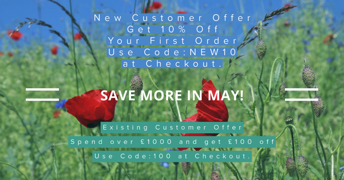 Save more in May at BDUK