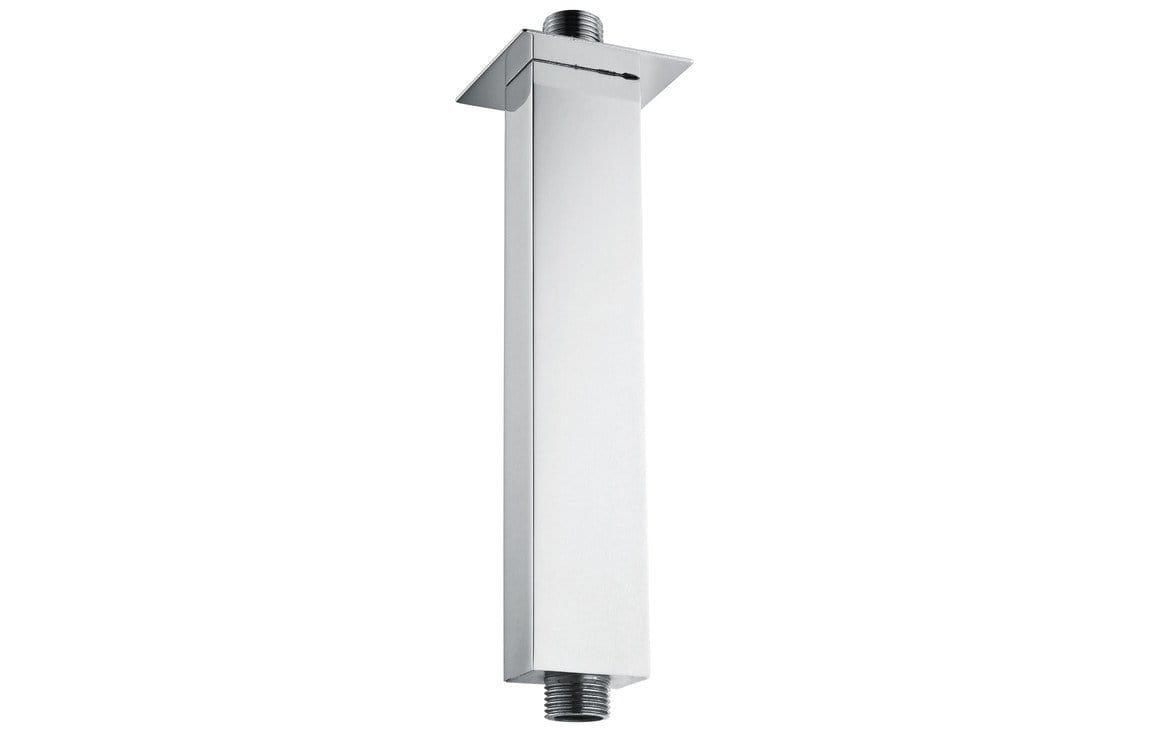Bathrooms to Love 120mm Square Ceiling Arm - Chrome DICM0236