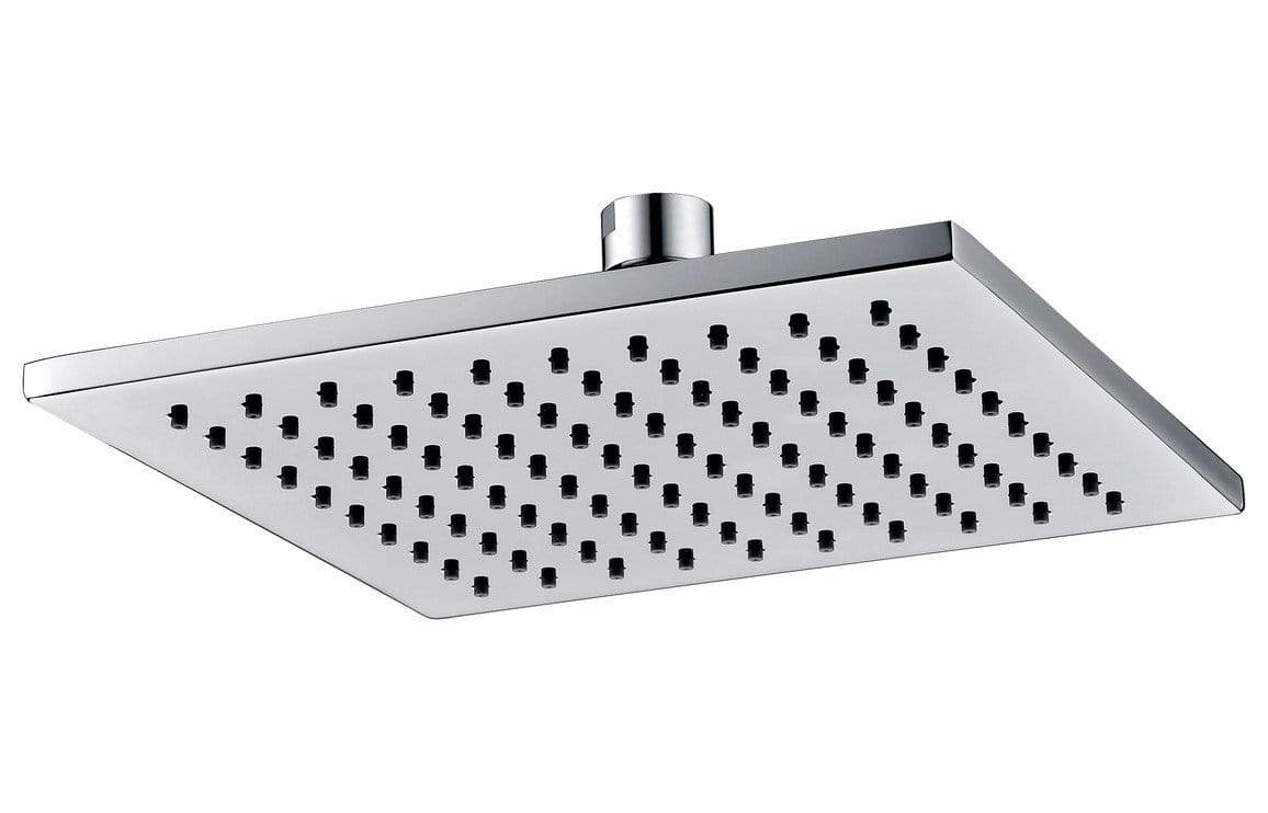 Bathrooms to Love 200mm Square Showerhead - Chrome/Brass DICM0226