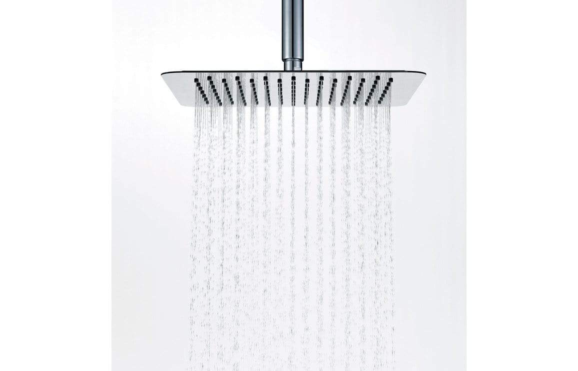 Bathrooms to Love 250mm Ultraslim Square Showerhead - St/Steel DICM0216
