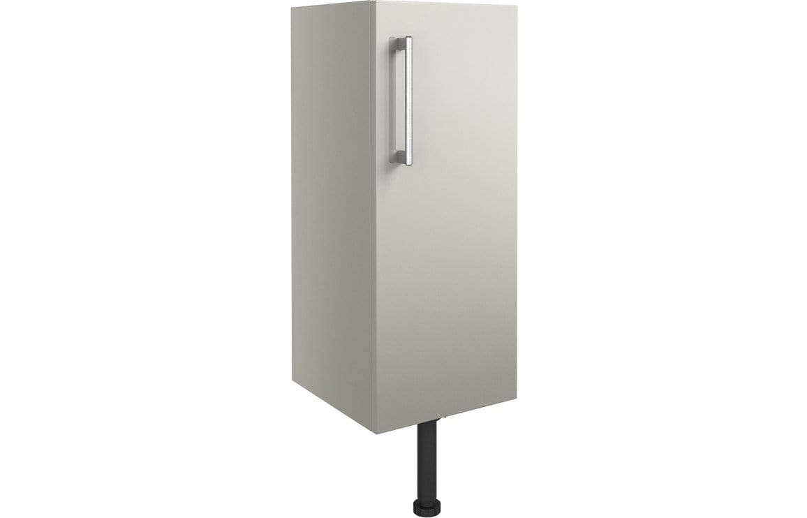 Bathrooms to Love Alba Light Grey Gloss 300mm Base Unit DIFT1312