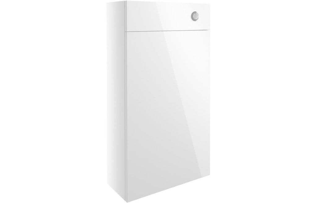 Bathrooms to Love Alba White Gloss 500mm Slim WC Unit DIFT1304