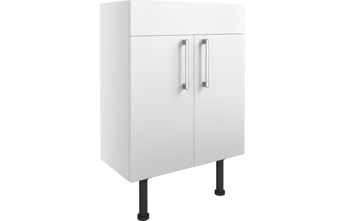 Bathrooms to Love Alba White Gloss 600mm Vanity Unit DIFT1298