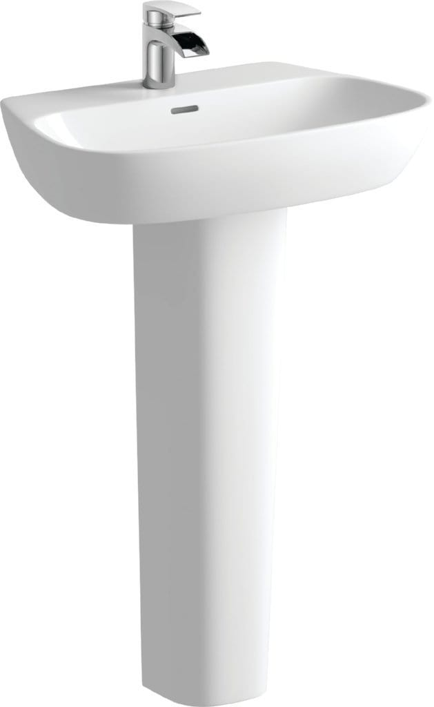 Bathrooms to Love Amyris Basin with Full Pedestal DIPBP1090