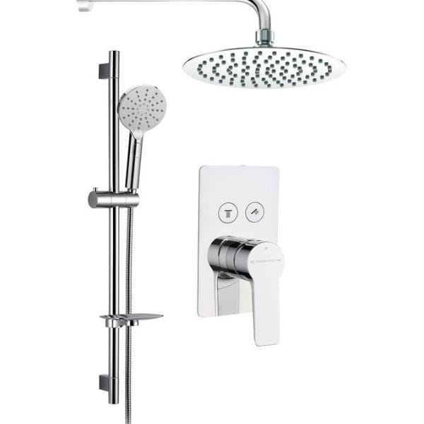 Bathrooms to Love Aura Shower Pack with Twin Push Button DICMP0040