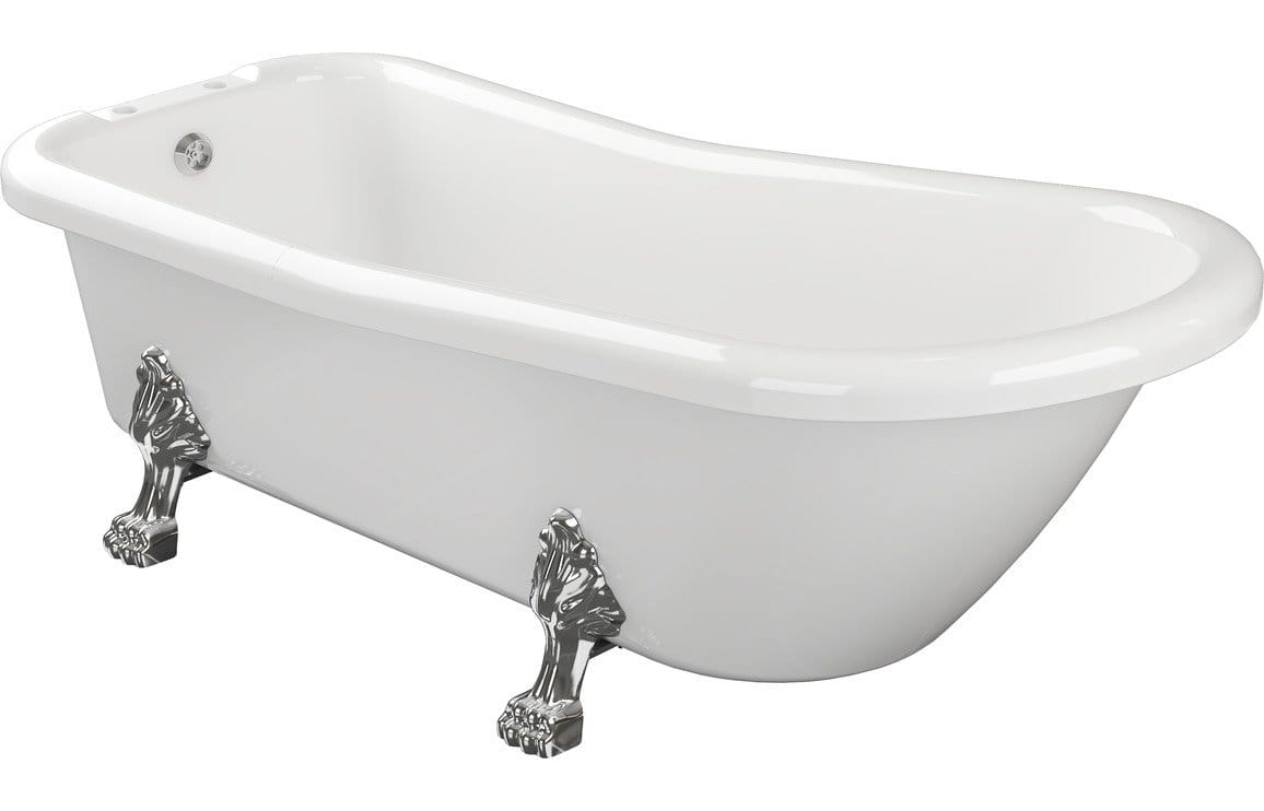 Bathrooms to Love Bayswater Freestanding Bath with Feet DIBFP2016