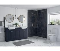 Bathrooms to Love Benita Indigo Ash Plinth DIFT1736
