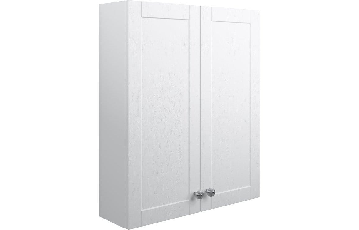 Bathrooms to Love Benita Satin White Ash 2 Door Wall Unit DIFT1710