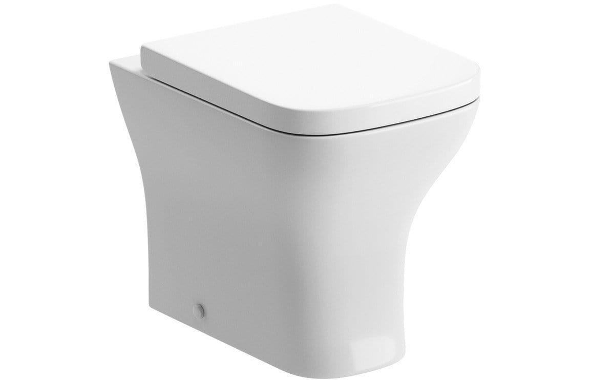 Bathrooms to Love Cedarwood Back To Wall WC & Wrapover S/C Seat DIPTP0256