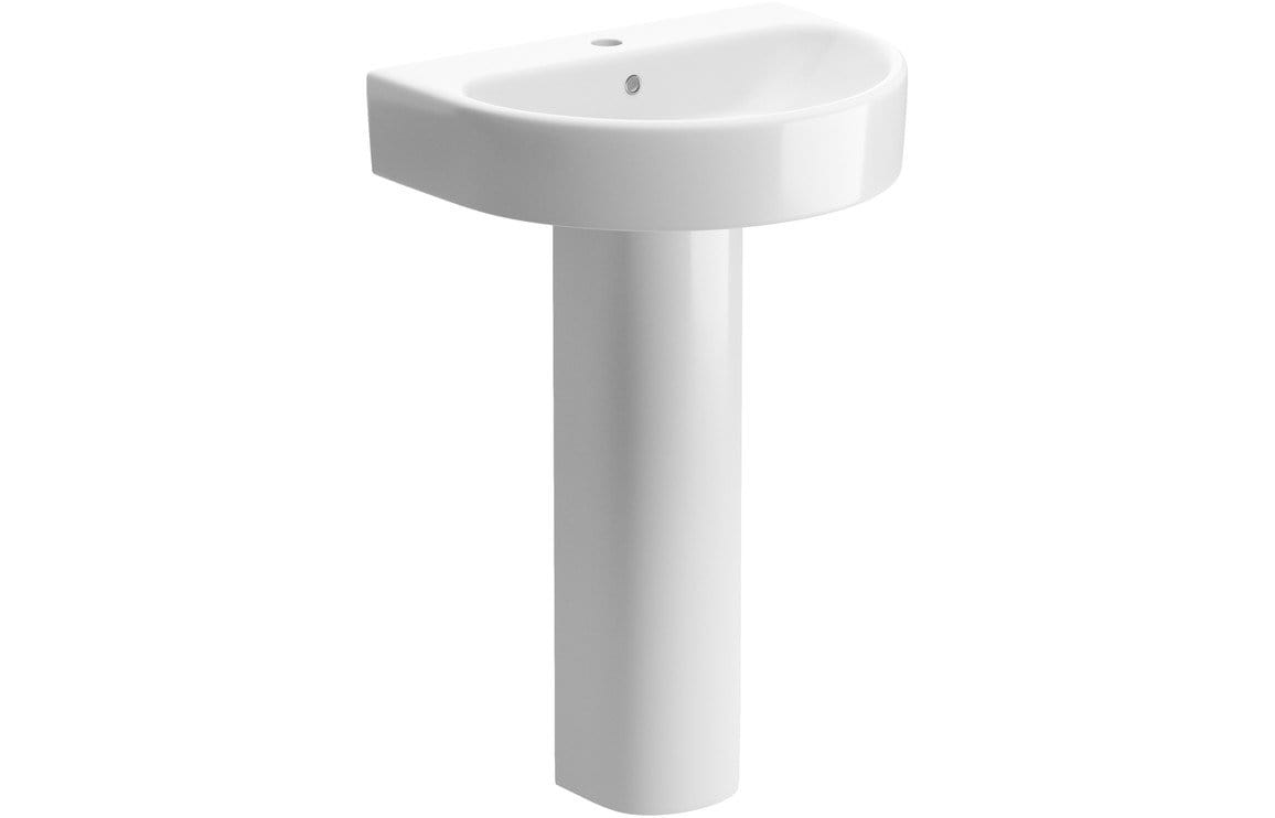 Bathrooms to Love Cilantro/Senna Full Pedestal Only DIPE1010