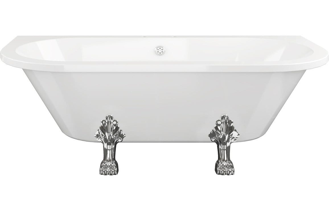 Bathrooms to Love Feet For Traditional Freestanding Back To Wall Bath DIBA0046