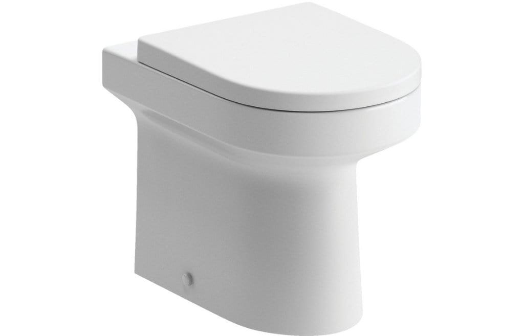 Bathrooms to Love Laurus² Back to Wall Toilet and Soft Close Seat DIPTP058