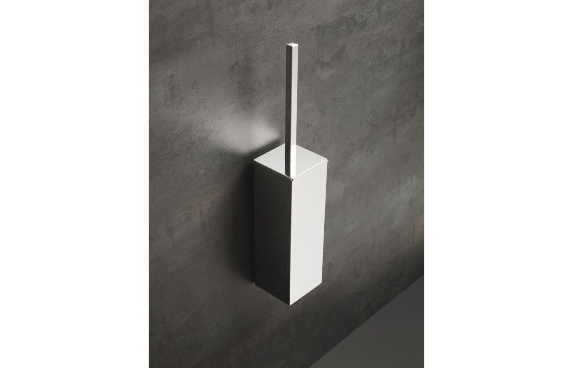 Bathrooms to Love Lissi Wall Mounted Toilet Brush Holder - Chrome DIAC0134