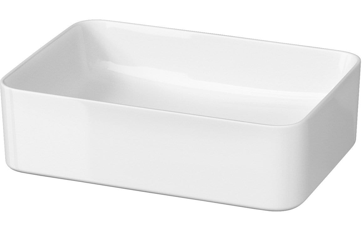 Bathrooms to Love Lorena Rectangular Ceramic Washbowl (410x510mm) DIPB0046