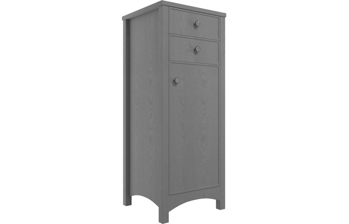Bathrooms to Love Lucia Grey Ash 465mm Tall Boy DIFT1856