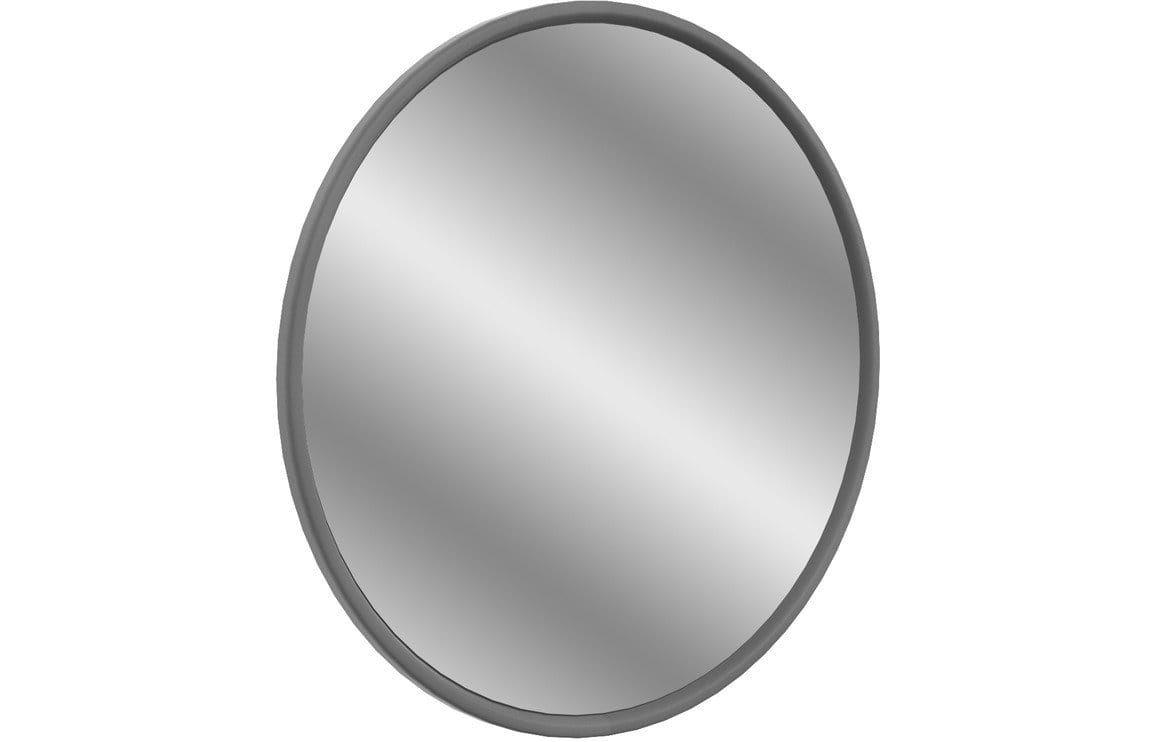 Bathrooms to Love Lucia Grey Ash 550 x 550mm Round Mirror DIMR0006