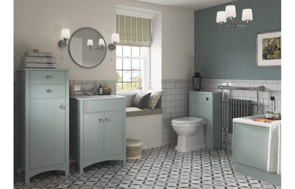 Bathrooms to Love Lucia Sea Green 510mm WC Unit DIFT1272