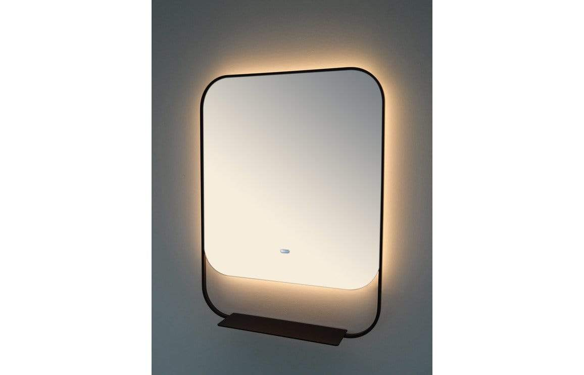 Bathrooms to Love Luxxo Black 600x800mm Backlit Mirror DIMS0036