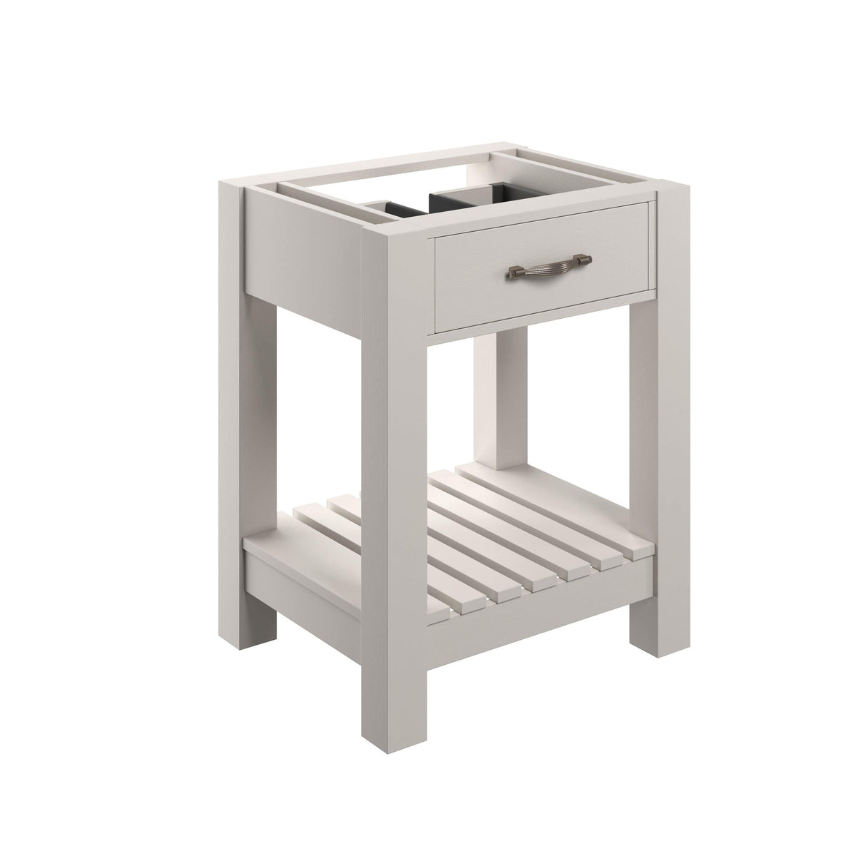 Bathrooms to Love Manhattan White Ash 600mm Floor Standing Vanity Unit (No Top) DIFT1918