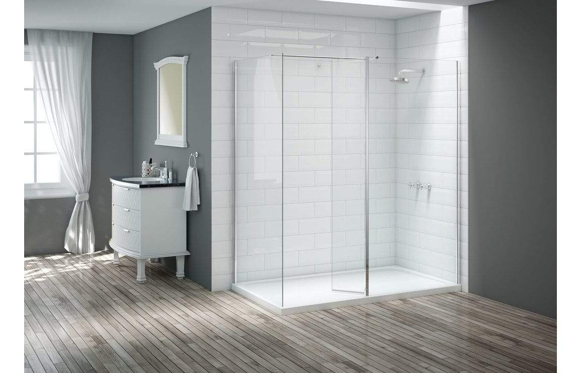 Moods Merlyn Vivid 300 Wet Room Swivel Panel 8mm DIEW3004