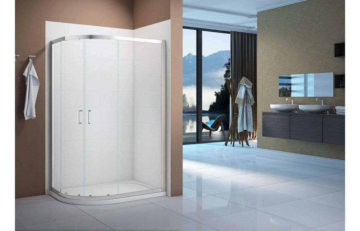 Bathrooms to Love Merlyn Vivid Boost 2 Door Offset Quadrant