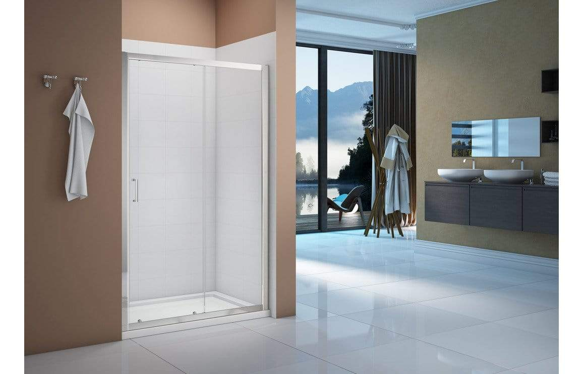 Bathrooms to Love Merlyn Vivid Boost Sliding Door Shower Enclosures