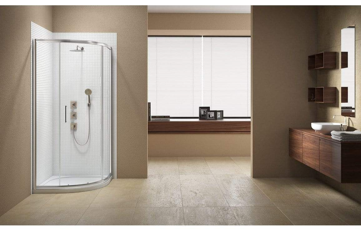 Bathrooms to Love Merlyn Vivid Sublime 900 mm 1 Door Quadrant DIEQP9066