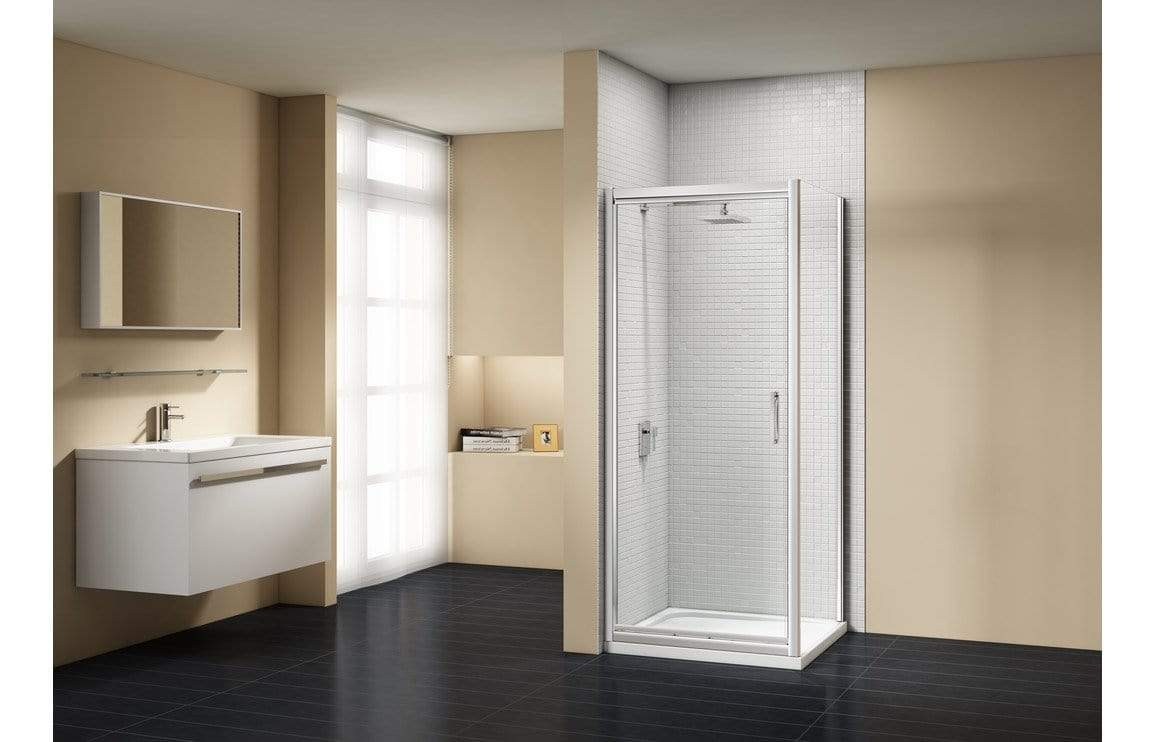 Bathrooms to Love Merlyn Vivid Sublime Infold Side Panel