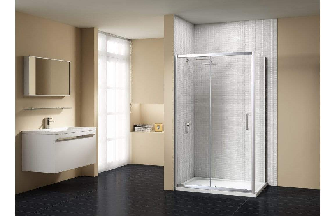 Bathrooms to Love Merlyn Vivid Sublime Optional Side Panels