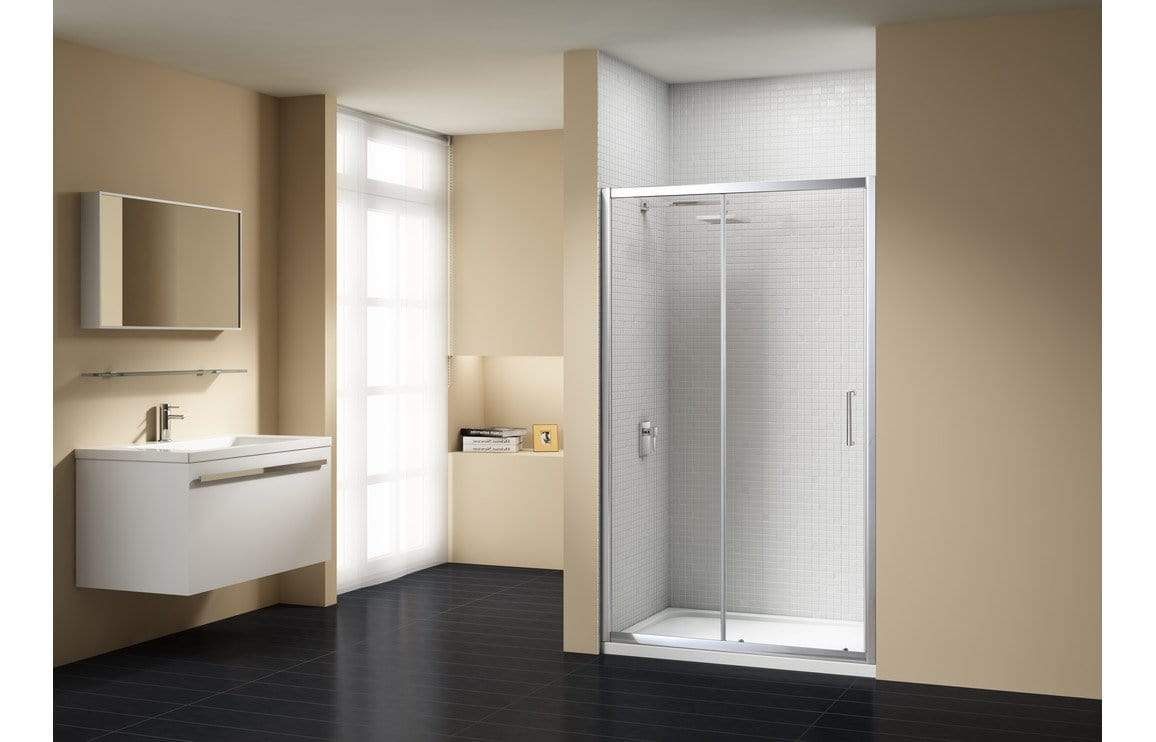 Bathrooms to Love Merlyn Vivid Sublime Sliding Door Shower Enclosures