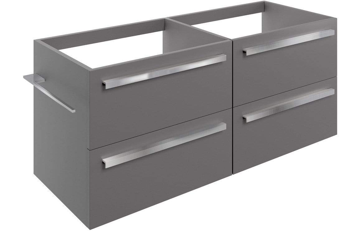 Bathrooms to Love Morina Matt Urban Grey 1200mm Wall Hung Vanity Unit Run (No Top) DIFTP1936