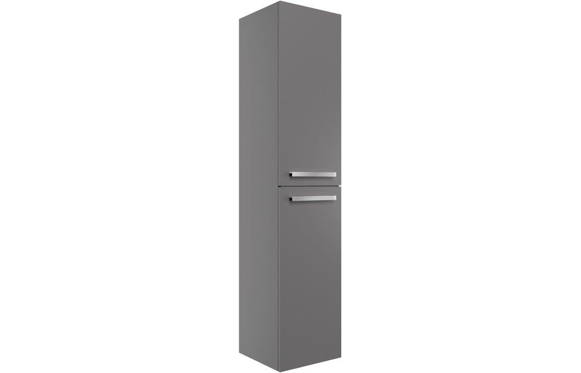 Bathrooms to Love Morina - Matt Urban Grey 350mm Wall Hung Tall Unit DIFT1826