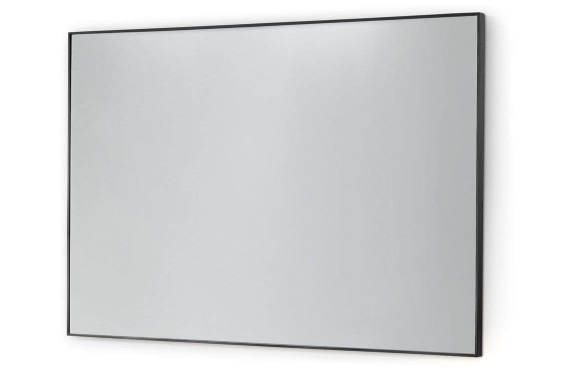 Bathrooms to Love Nola Black Frame 600x800mm Rectangular Mirror DIMS0046