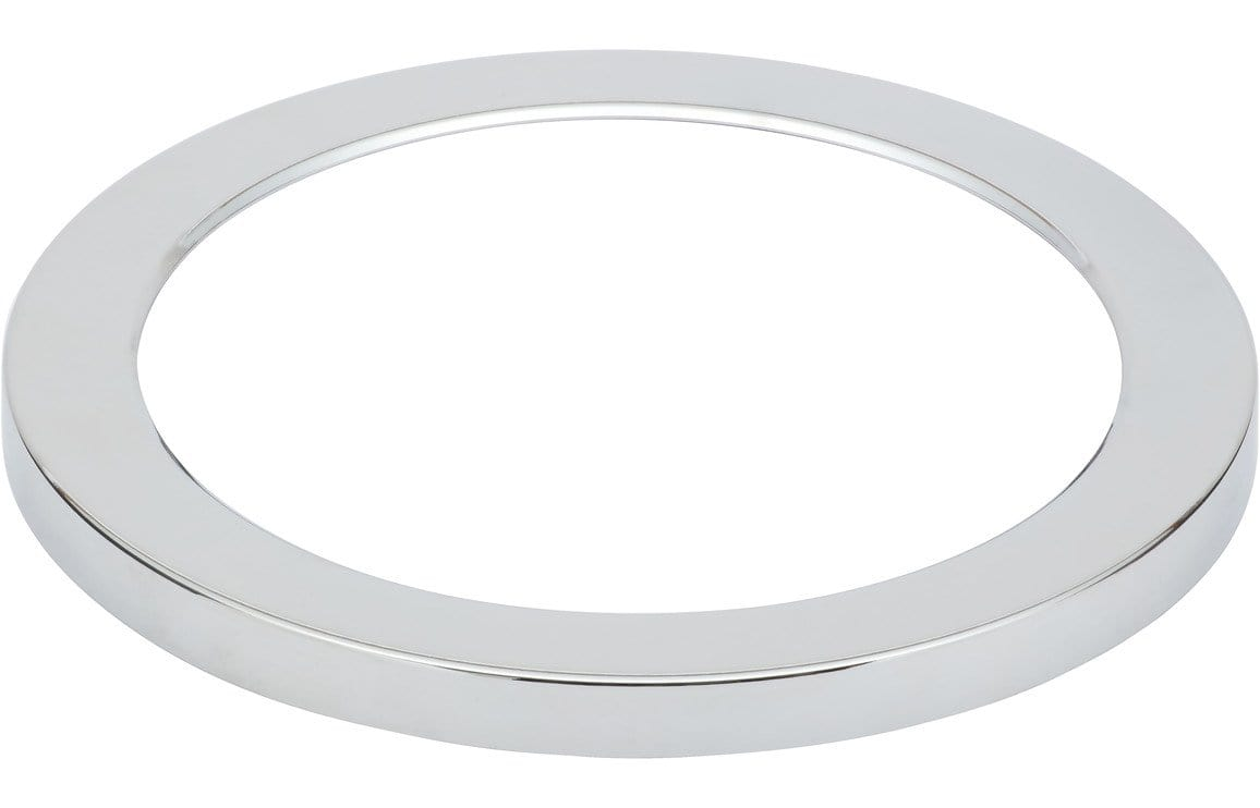 Bathrooms to Love Nuva Chrome Round Magnetic Light Cover