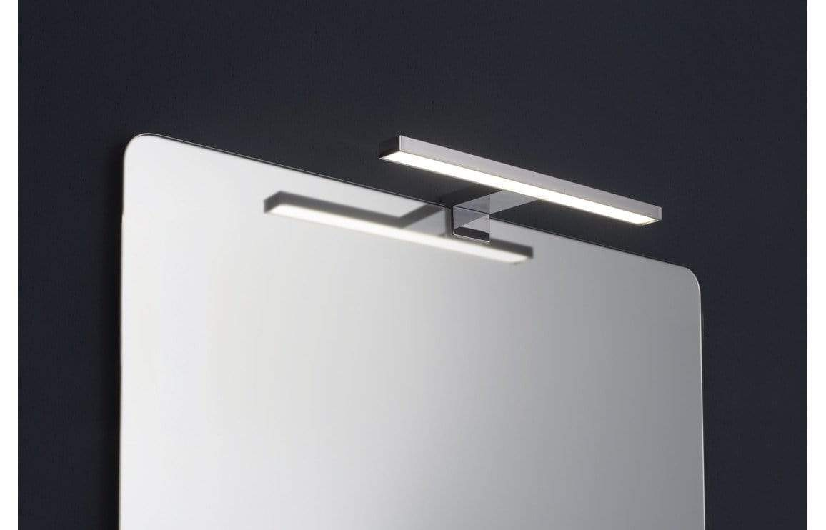 Bathrooms to Love Pavia Black LED Over-Mirror Light DIMS0044