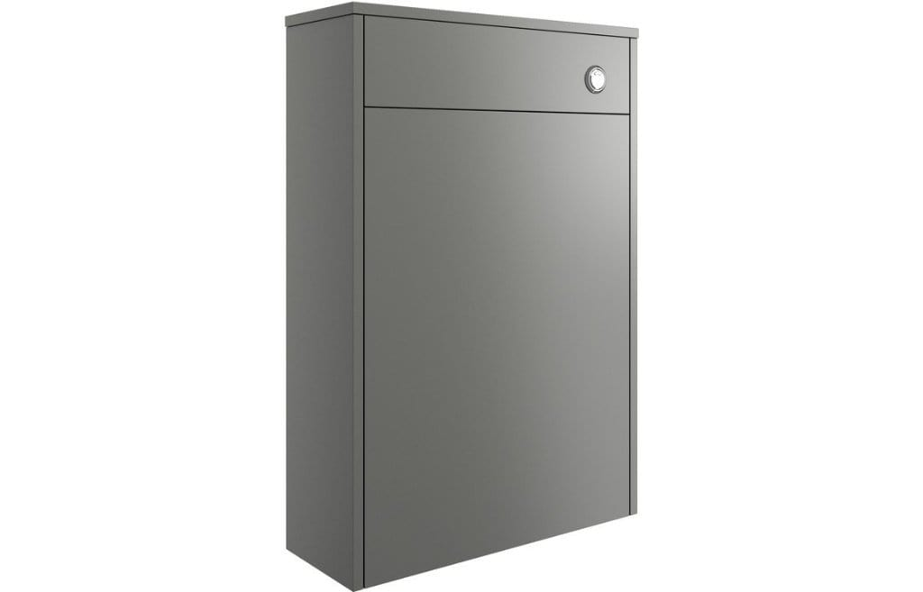 Bathrooms to Love Perla Matt Grey 600mm Floor Standing WC Unit DIFT1220