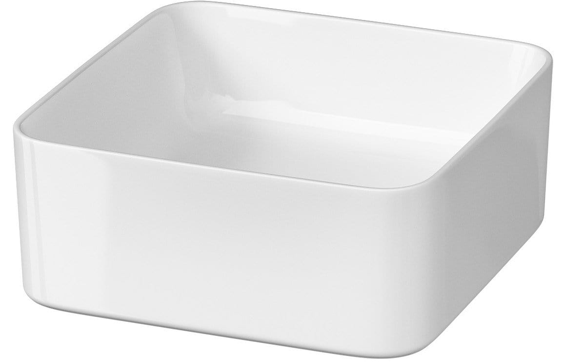 Bathrooms to Love Pia Square Ceramic Washbowl (360x375mm) DIPB0050