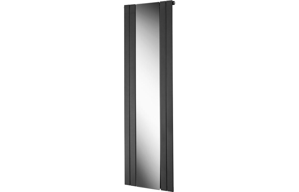 Bathrooms to Love Portra 45 mm Mirrored Radiator 605 x 1800 mm - Anthracite DIRA0198