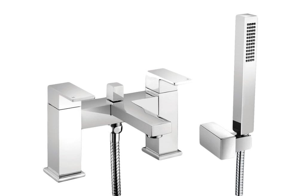 Bathrooms to Love Quadro Bath Shower Mixer with Shower Kit DITB2090