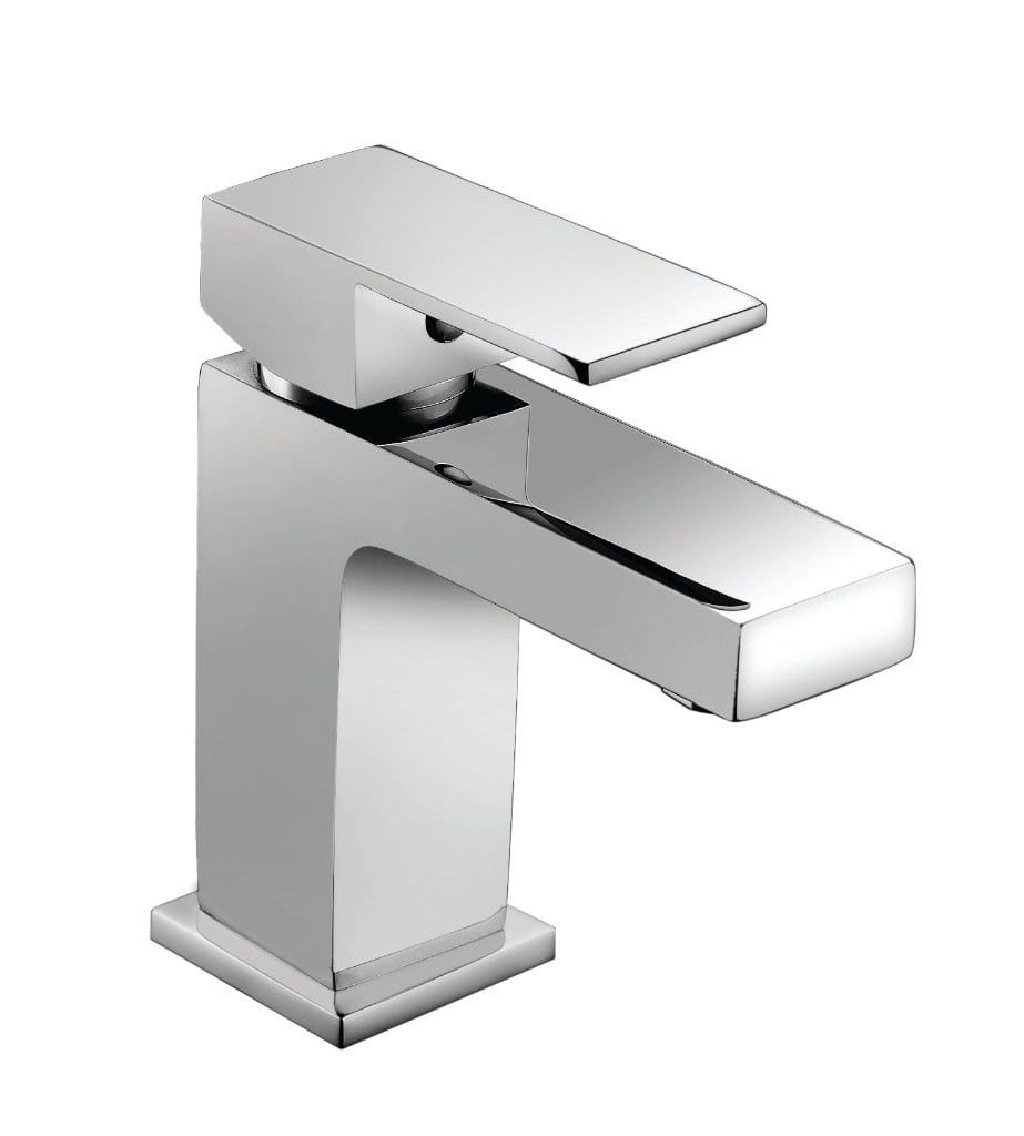 Bathrooms to Love Quadro Mono Basin Mixer with Click Clack Waste DITS1078